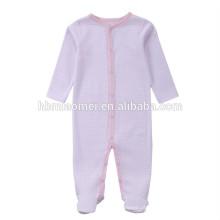 2017 new arrival baby inverno bodysuits para a criança manga comprida com capuz cor de rosa listrado bebê liso romper para escalada