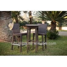 Chaise de bar en aluminium populaire Outdoor All Weather
