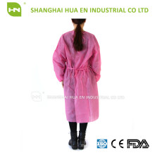 Dental disposable yellow isolation gown