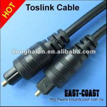 Optical fiber toslink cable