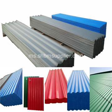 Anti-karat Premium Heat-ressitant PET MgO Roofing Sheets
