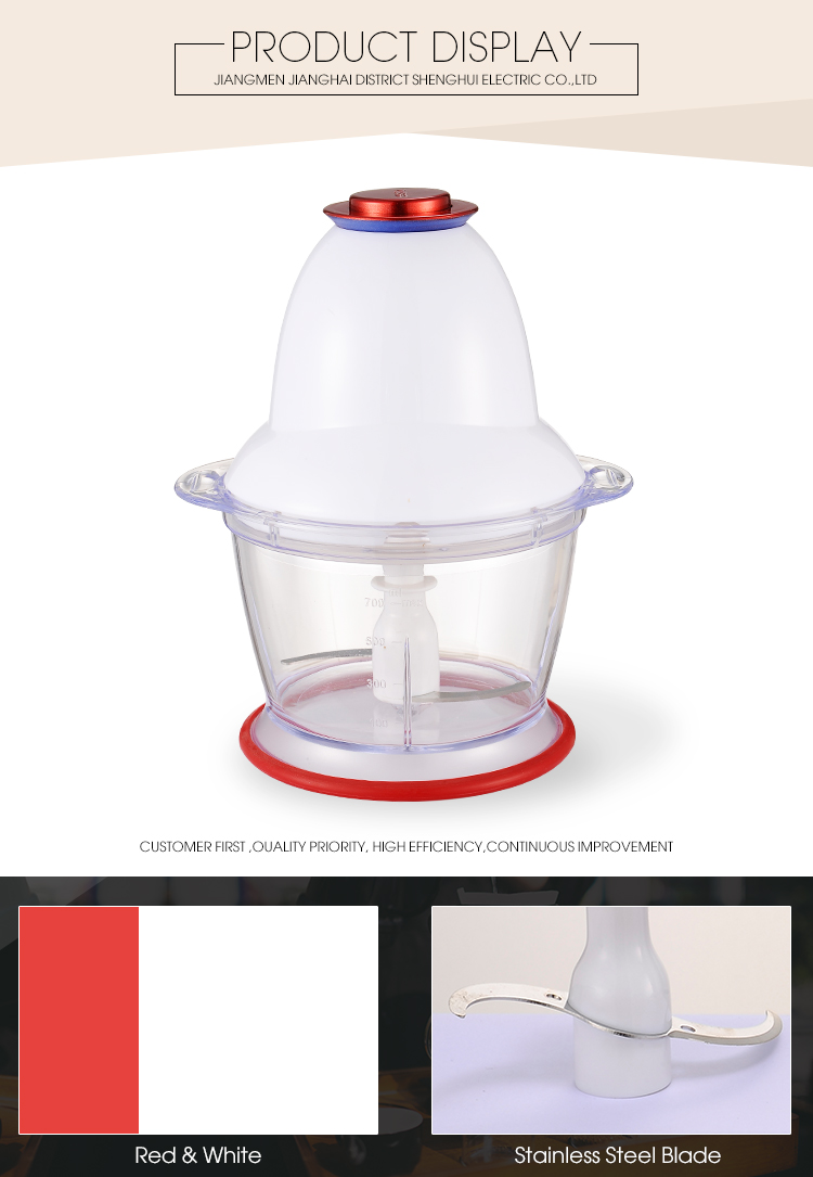 One Blade High Speed Small Capacity Food Chopper