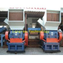 Unidad de trituración de plástico, unidad trituradora de hojas de PVC, trituradora de tubos de película PP / PE