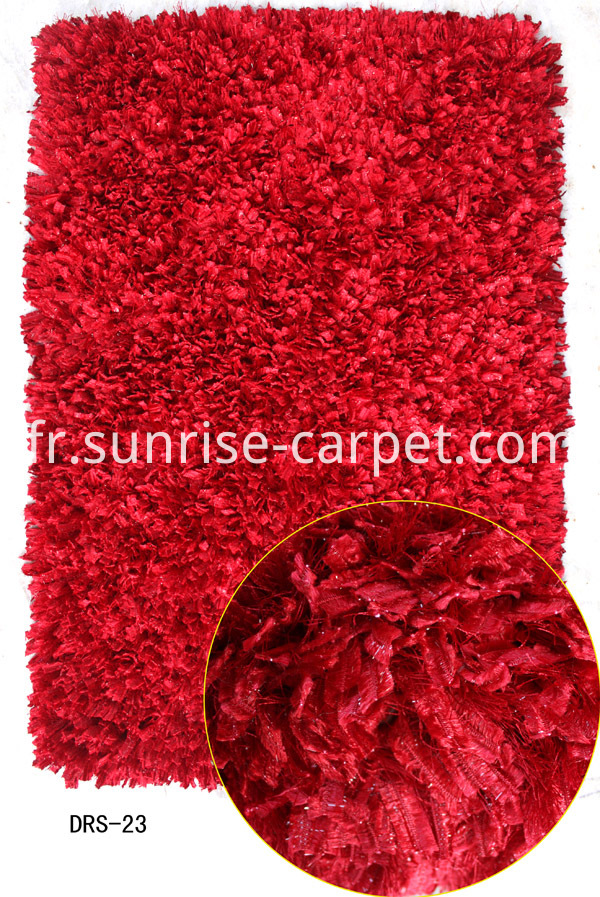 Polyester mixed Shaggy for Doormat