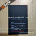 Impressora de cartão de visita reciclado de luxo impressa tipográfica offset