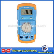 multímetro digital de bajo precio DT710L con Battery Tester