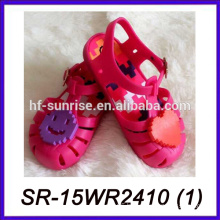 smile face kids jelly sandals wholesale jelly sandals kid sandal