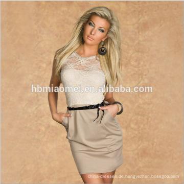 2017 frauen Sommer Bodycon Kleid Damen sexy plus größe gerade kleid für büro