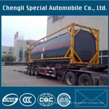 Reboque químico do tanque do recipiente do recipiente 40000liter de 40FT