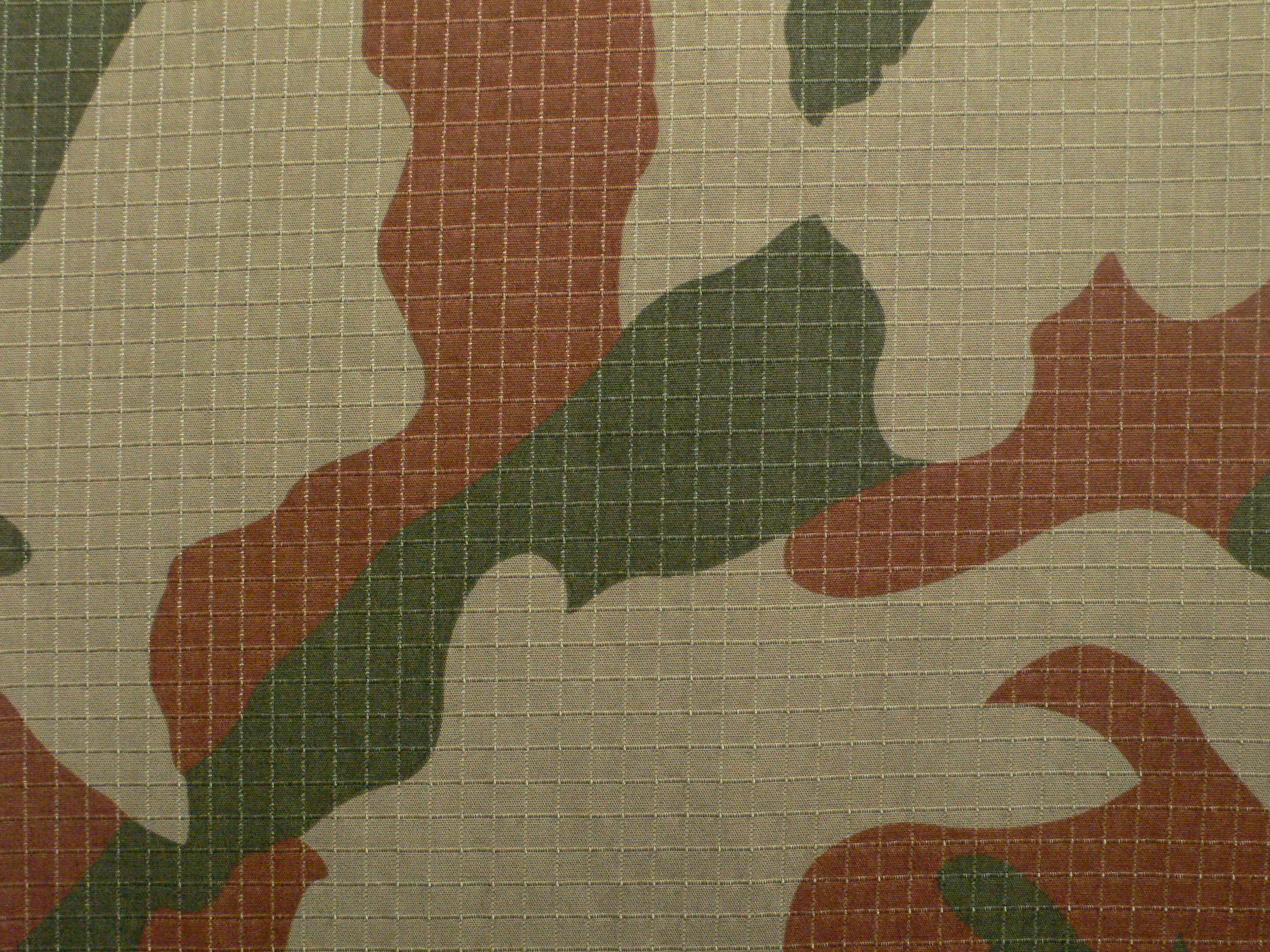 Flame Retardant Nylon Cotton Rip Stop Camouflage Fabric