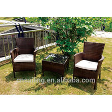 Popular Patio Waterproof clear plastic coffee tables and chairs