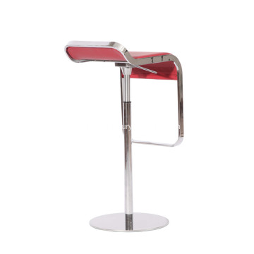 Modern Swivel LEM Piston Stool
