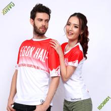 Gute Qualität 100% Polyester Dri Fit T-Shirts für Sport / Laufen / Marathon