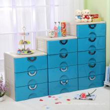 Plastic Wardrobe Storage Drawer Cabinet (FL-153)
