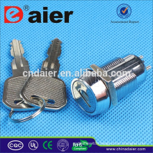 Daier key lock switch electrical 3 position key switch