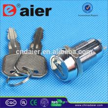 Interruptor de chave Daier interruptor elétrico 3 posição interruptor de chave