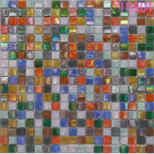 Glass Mosaic Tile Iridium Mixture