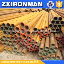 Tubulação de aço sem emenda de carbono ASTM A106 ASTM A53 carbono SCH40 STD