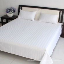 China Supply White Flat Sheet for Hotel Bedding Sets (WSFS-2016004)