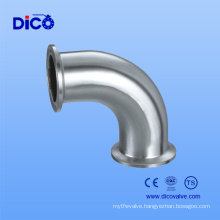 Stainless Steel 316 Sanitary Pipe Clamp Elbow for Manufacturer