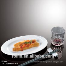 Plats et assiettes Vaisselle Type de vaisselle au restaurant en porcelaine Buffet assiettes
