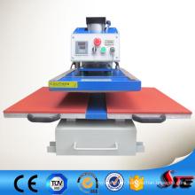 Machines de transfert thermique de table de travail de double glissement automatique inférieur