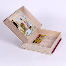 Custom dummy book shaped gift box
