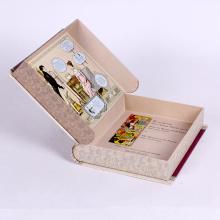 Пользовательские манекен забронировать коробка подарка формы