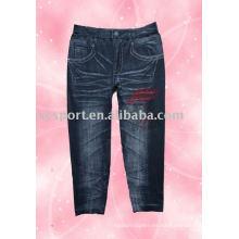 Moda Sin costuras en todo el pantyhose de impresión