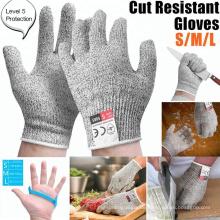 Cut Proof Level 5 Beständige Küche Sicherheitshandschuhe