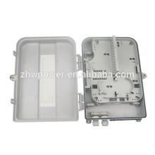 19 '' 2U ftth boîte de raccordement / 24 ports boîte de distribution de fibre optique / extérieur ftth 24 core fibre optique boîte de distribution