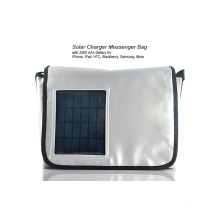 Nylon Material Inclined Shoulder Bag Type solar backpack