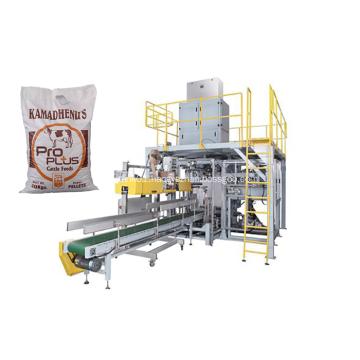 25kg Cattle Feed Bag Packing Machine