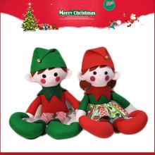 Fabricante de China boneca de elfo de pelúcia de Natal