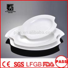 Производитель фарфора / керамики банкет лист плита рыба пластины пластина овальная пластина