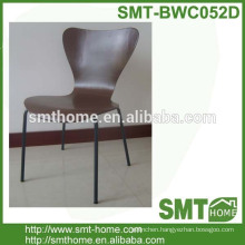 birch bentwood modernhotel desk chair with metal legs