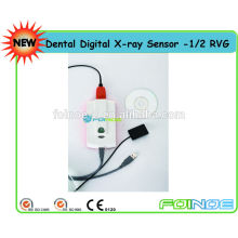Sensor de raio x dental digital 1/2 (RVG) (Nome do modelo: B) - Aprovado pela CE -