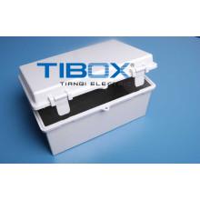 Boîtier en plastique 2015 Tibox Te Series (loquet en plastique + type charnière)