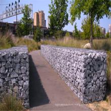 Gabions de pierre soudés pour la décoration de jardin
