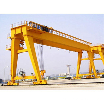 Industrial outdoor use double girder gantry goliath crane