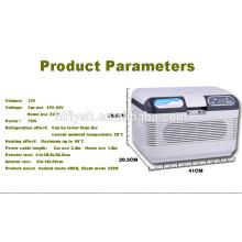 HF-AQ-12L (107) DC12-1-24V AC 220V voiture et maison double usage voiture réfrigérateur voiture refroidisseur (certificat CE)