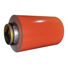 Bobina de acero galvanizado prepintado de color RAL
