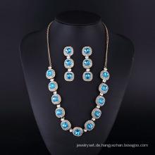 Versilberung Mode Saphir Diamant Neckalce für Womwn