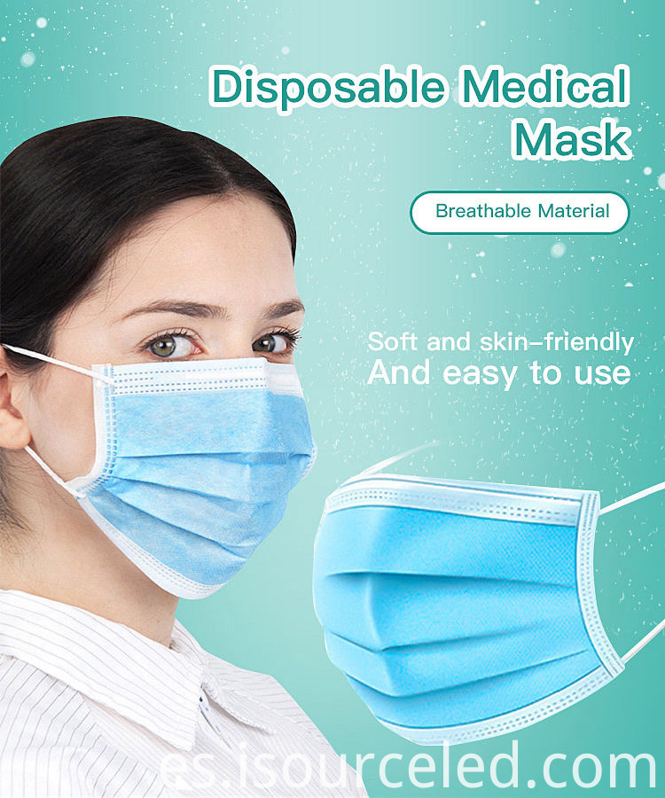 Factory direct supply disposable face masks