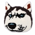 Cartoon Husky Dogs Handtuch Chenille Stickseil Patches