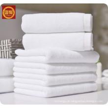 toalha de banho nova do estilo do microfiber 100% branco, toalha do hotel, toalha de cara tecida