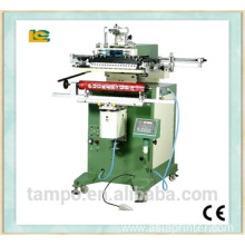 Screen printing machine for long tube