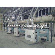 La máquina más nueva del proceso y del refinamiento del aceite de palma del crudo de la tecnología con CE e ISO