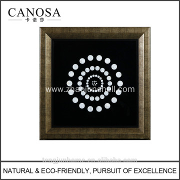 CANOSA shell little round point Wall Picture frame