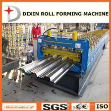 Cangzhou Dixin galvanizado suelo laminado en frío laminado que forma la máquina